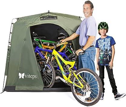 Tienda para exterior para guardar bicicletas y ahorrar espacio ...