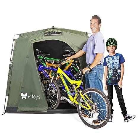 Tienda para exterior para guardar bicicletas y ahorrar espacio, lugar de almacenamiento para jardín y