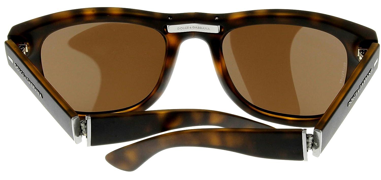 d9aa3d55c72 Amazon.com  Dolce   Gabbana Sunglasses Men Havana Wayfarer Folding DG6089  502 73  Clothing