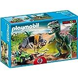 PLAYMOBIL® 9231 Explorer Quad with T-Rex - New...