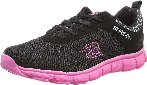 BruettingCosmos - Zapatillas de Running Mujer, Color Negro, Talla 36: Amazon.es: Zapatos y complementos