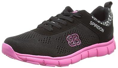 Bruetting Zapatillas Para Deportes de Exterior de Material Sintético Para Mujer Negro Negro, Color Negro, Talla 36