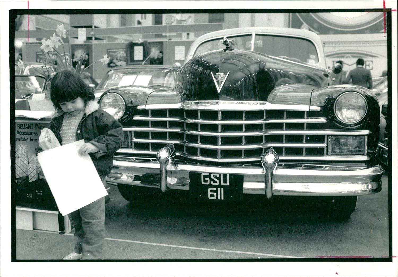 Fotomax Vintage Photo of Punter Checks her Program.
