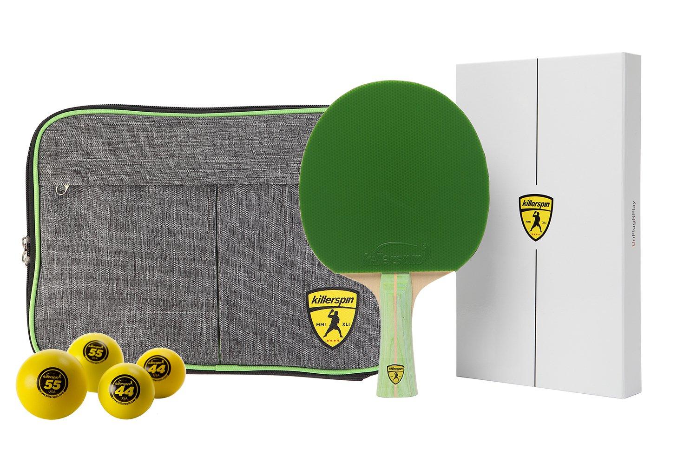 Killerspin JET200 Lime Table Tennis Racket Combo