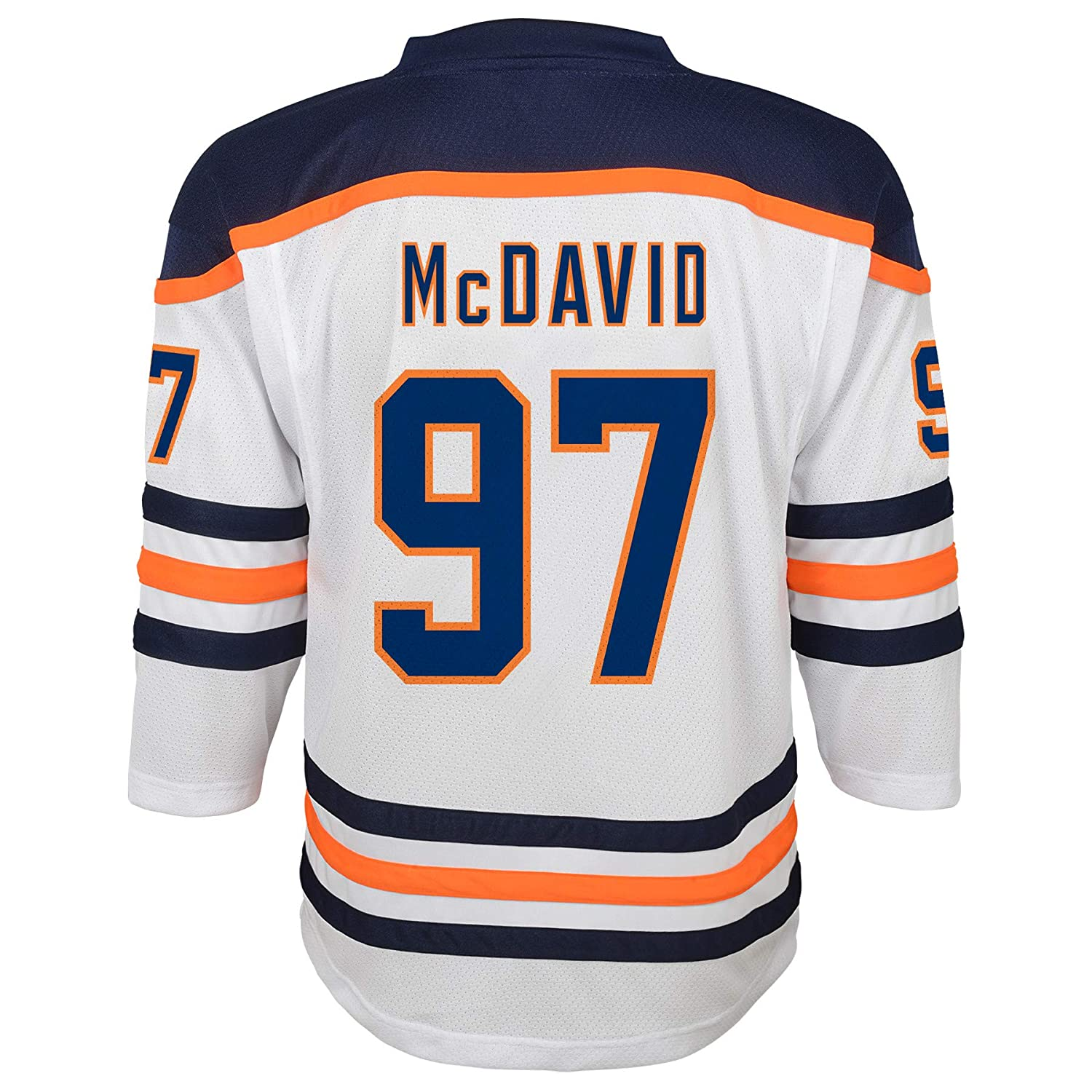 cheap for discount d97d3 586a9 Outerstuff NHL Boys Connor McDavid Replica Jersey-Away