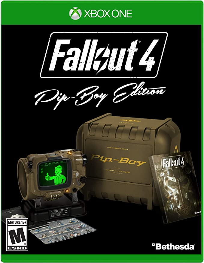 Fallout 4 - Pip-Boy Edition - Xbox One by Bethesda: Amazon.es: Videojuegos