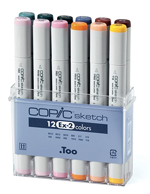 Great new summary of Copic S12EX-2