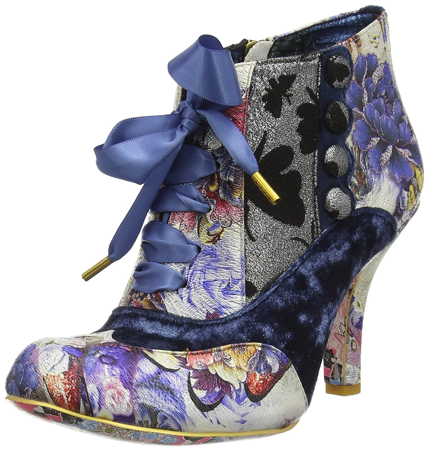 Irregular Choice Blair B01N131VHM Elfglow, Bottines Choice Femme Bleu (Blue Metallic Bottines U) b9a32b5 - conorscully.space
