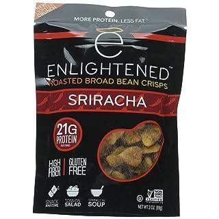 Enlightened Roasted Broad Bean Crisps - Sriracha 3 OZ / 6-Pack