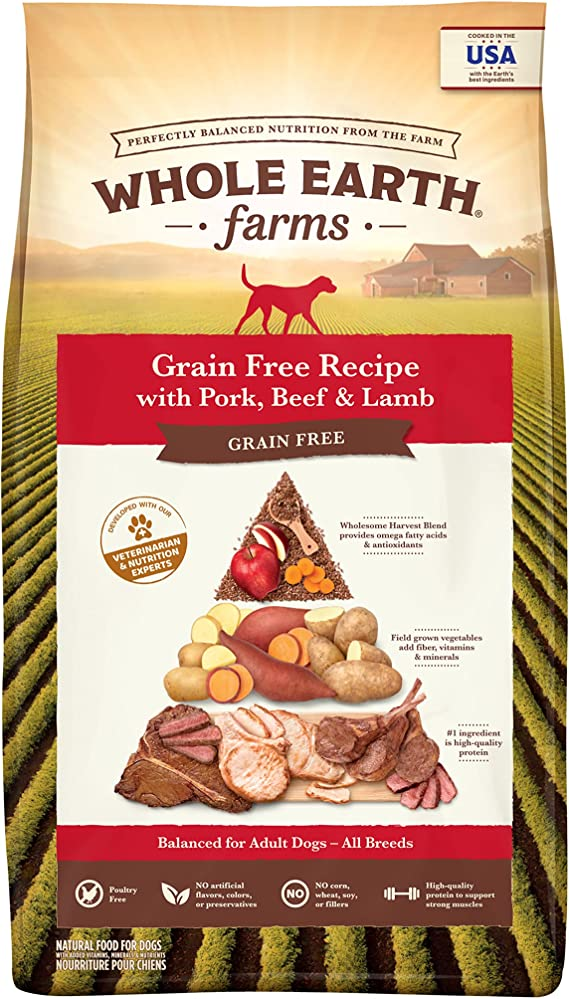 Whole Earth Farms Grain Free Dry Dog Food | Chewy