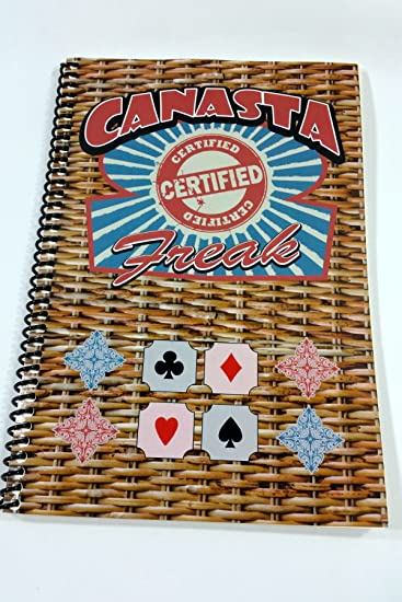 AmazonCom Canasta Score Pad For The Certified Canasta Freak