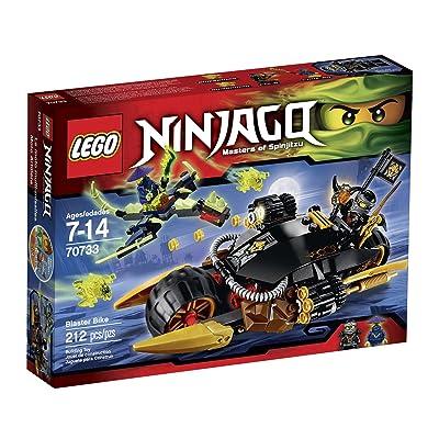 Lego Ninjago 70733 Blaster Bike Building Kit: Toys & Games