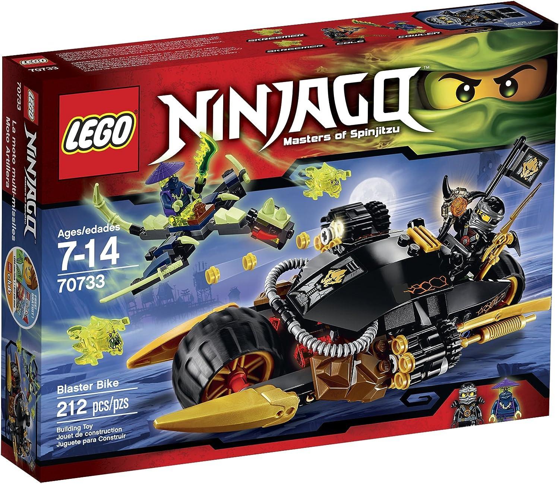 Lego Ninjago 70733 Blaster Bike Building Kit