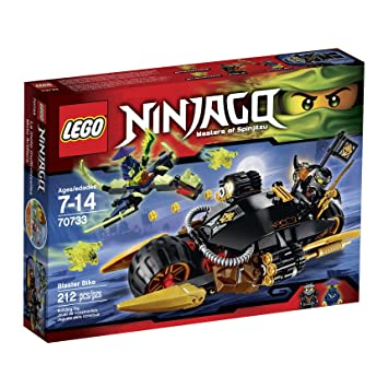 LEGO Ninjago 70733 Blaster Bike Building Kit by LEGO: Amazon ...