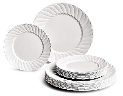 Thomas Loft Platte Servierplatte Oval Flach Porzellan Weiß 40 cm 12740