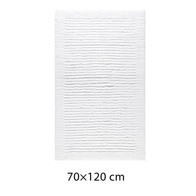 Cawö Wendeteppich Luxus 1002 weiß - 600 Größe 70 x 120