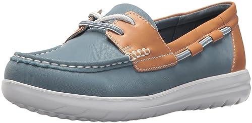 cc67ff71cf47 Image Unavailable. Image not available for. Colour  Clarks Women s Jocolin  Vista Boat Shoe ...