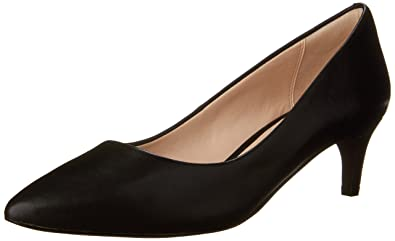 Cole Haan Women's Amelia Grand 45mm Dress Pump, Black Leather, ...