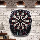 WIN.MAX Electronic Soft Tip Dartboard Set LCD