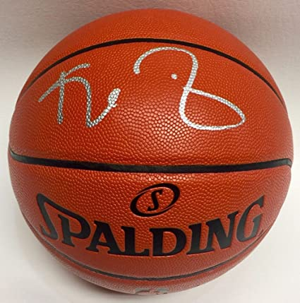 super popular 56851 f67bd Kevin Garnett Signed Autographed Basketball With PSA Itp Coa ...