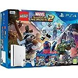 PlayStation 4 500Gb, White + Lego Marvel Super Heroes 2 + Lego Avengers [Bundle]