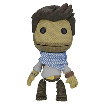 "NECA Little Big Planet - 7"" Scale Series 2 Uncharted Sackboy Action Figures: Toys & Games"