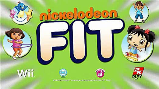 Amazon com: Nickelodeon Fit: Video Games