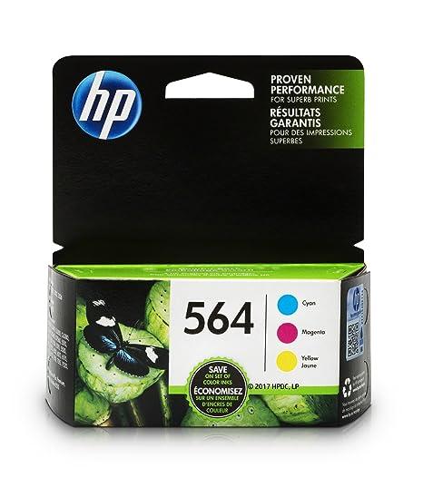 Amazon Hp 564 Ink Cartridges Cyan Magenta Yellow 3 Ink