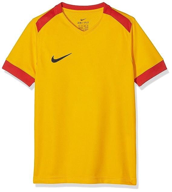 pretty nice 1441f 8b4f5 Nike Park Derby II SS, T-Shirt Unisex Bambini, Gold University Red/