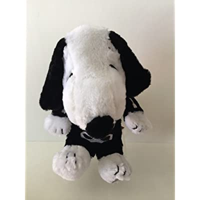 "10 Inch Snoopy in a Skeleton Halloween Costume Musical Animated Plush - Plays ""Linus and Lucy"": Toys & Games"