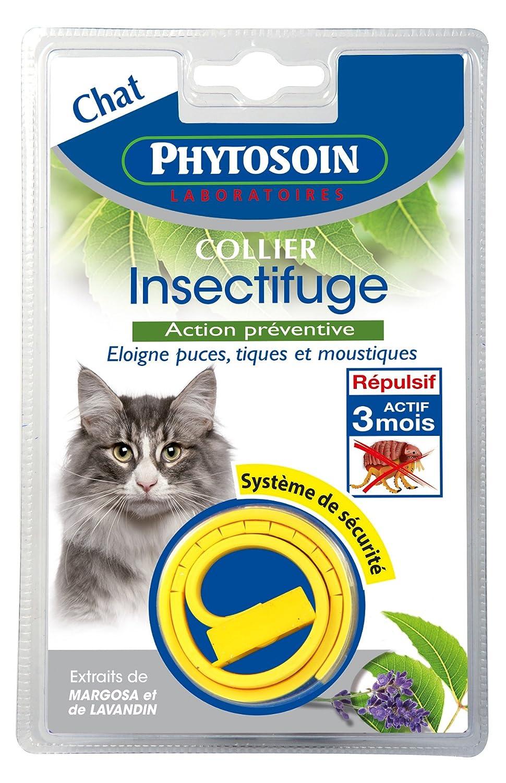 Phytosoin 093443 Insectifuge Katzenhalsband zur Insektenabwehr, mit Sicherheitsverschluss