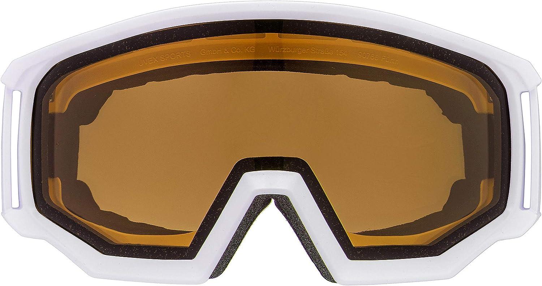 uvex Unisex/ Erwachsene athletic P Skibrille black mat