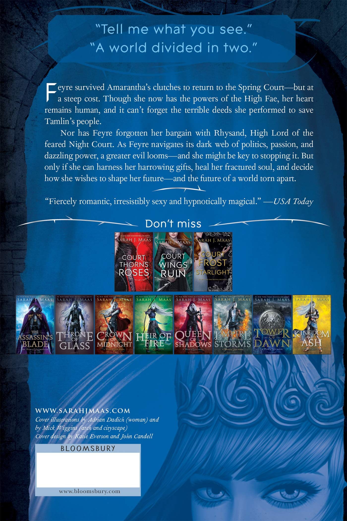 Amazon com: A Court of Mist and Fury (A Court of Thorns and