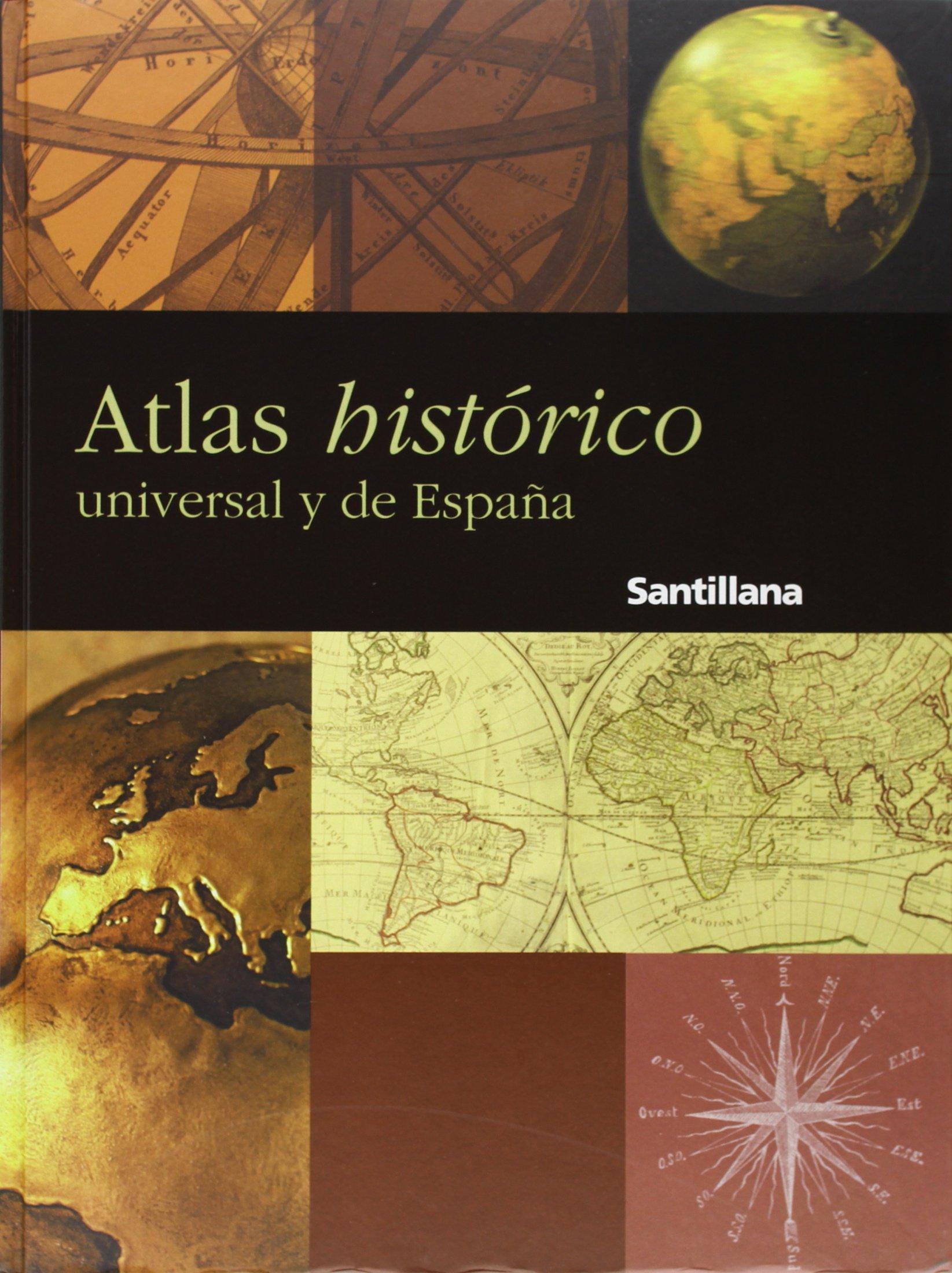 Atlas histórico universal y de España Santillana: Amazon.es ...