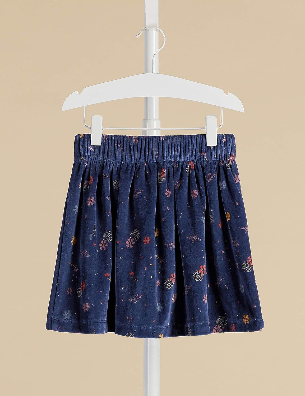 Marca Amazon - Red Wagon Printed Velvet Skater Skirt, Falda para ...