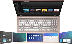 "ASUS VivoBook S15 S532 Thin & Light Laptop, 15.6"" FHD, Intel Core i5-10210U CPU, 8GB DDR4 RAM, 512GB PCIe SSD, Windows 10 Home, IR Camera, S532FA-DH55-PK, Punk Pink-Metal"
