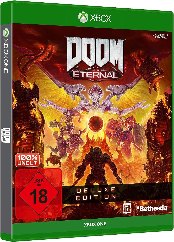 DOOM Eternal - Deluxe Edition - Xbox One [Importación alemana ...