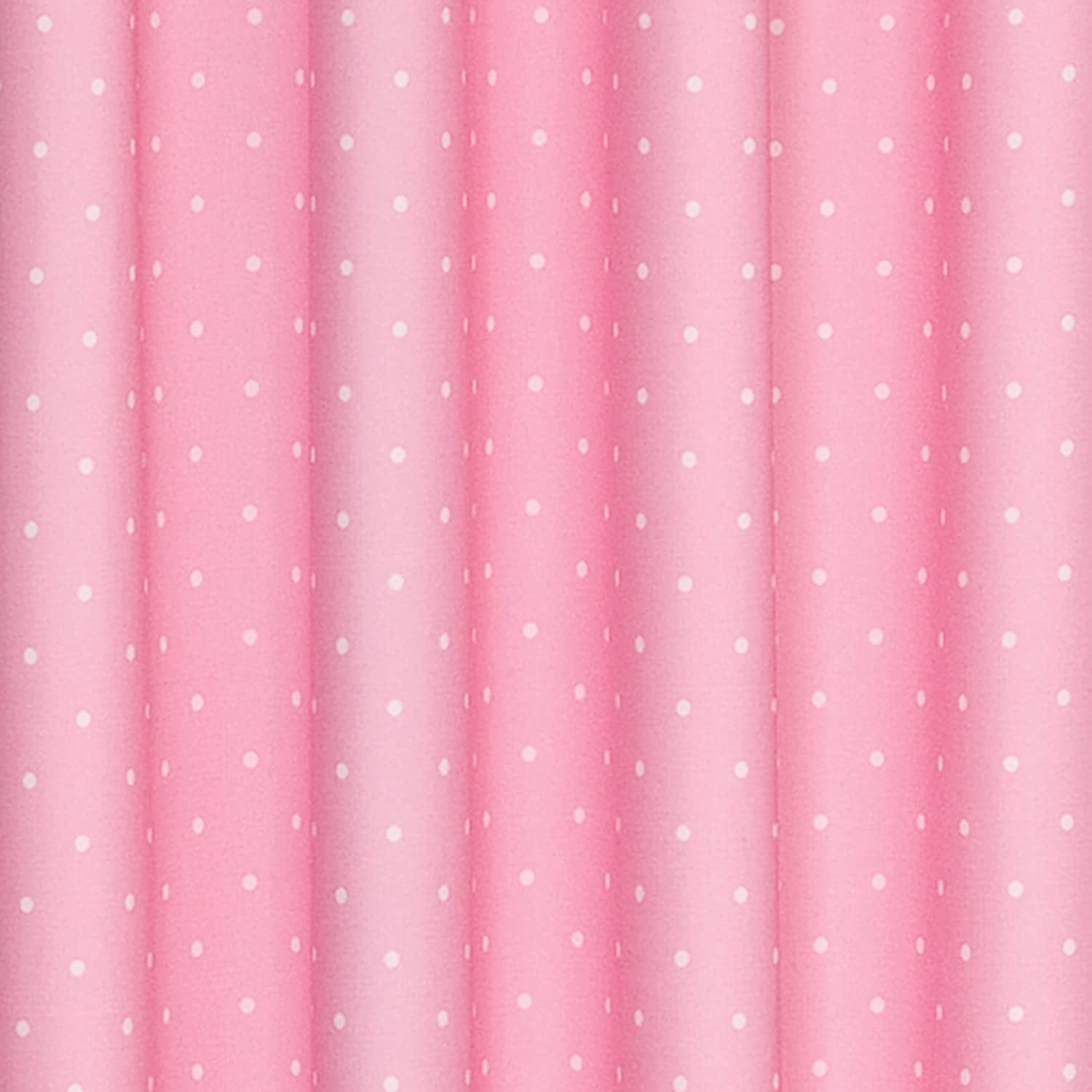 Light pink curtains for kids - Amazon Com Eclipse Kids 12424042x084pnk Polka Dots 42 Inch By 84 Inch Blackout Single Window Curtain Panel Pink Home Kitchen