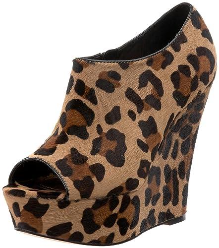 Steve Madden Women's Wicked-L Wedge,Leopard,5 ...