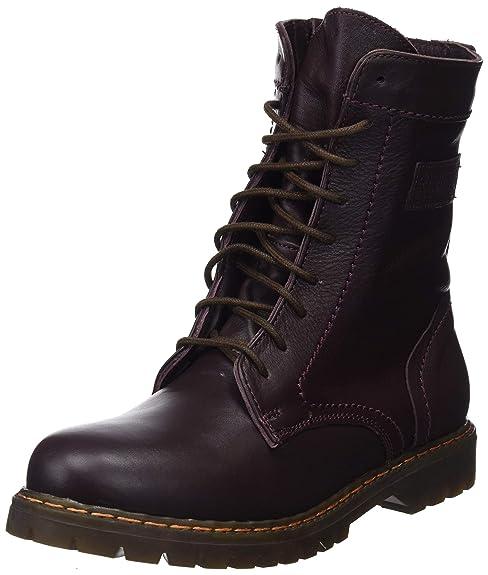 Coronel Tapiocca Piel Burdeos Botin Señora, Botas Slouch para Mujer: Amazon.es: Zapatos y complementos