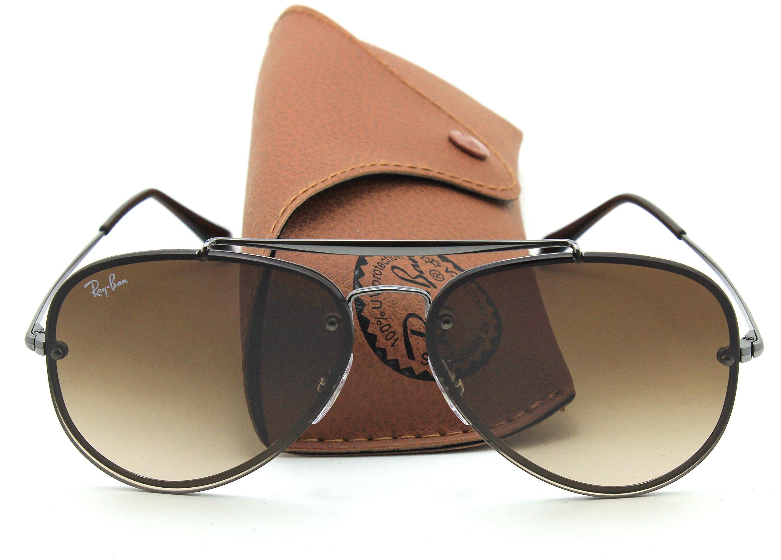 Ray-Ban RB3584N BLAZE AVIATOR Gradient Sunglasses 004/13, 58mm