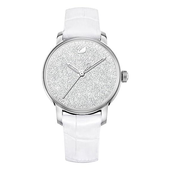 250de821e57ce5 swarovski Orologio Crystalline Hours, bianco: Amazon.it: Orologi