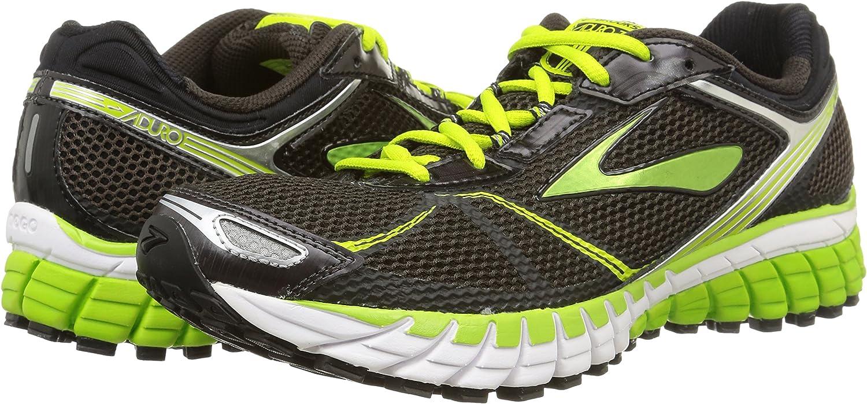 Brooks Aduro 3 - para hombre, Negro - Schwarz (Phantom/LimeGreen/Black), 46: Amazon.es: Zapatos y complementos