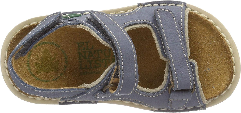 El Naturalista Boys/' E289 Pleasant Curry-porcelana//Terra Open Toe Sandals