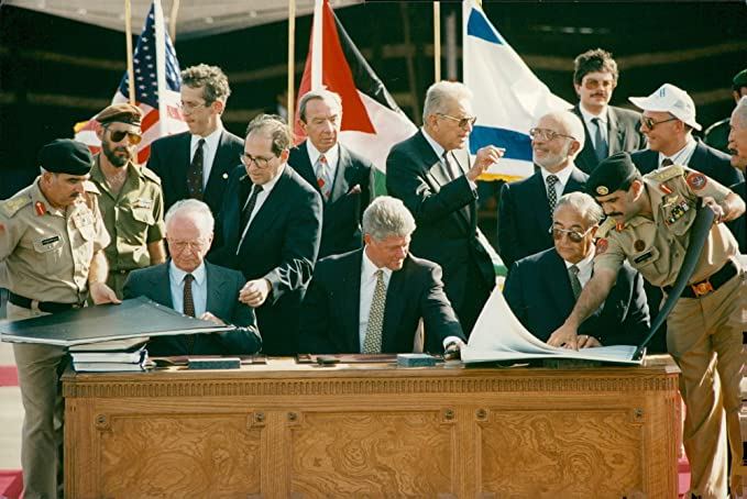 Amazon Vintage Photo Of The Peace Agreement Between Israel And