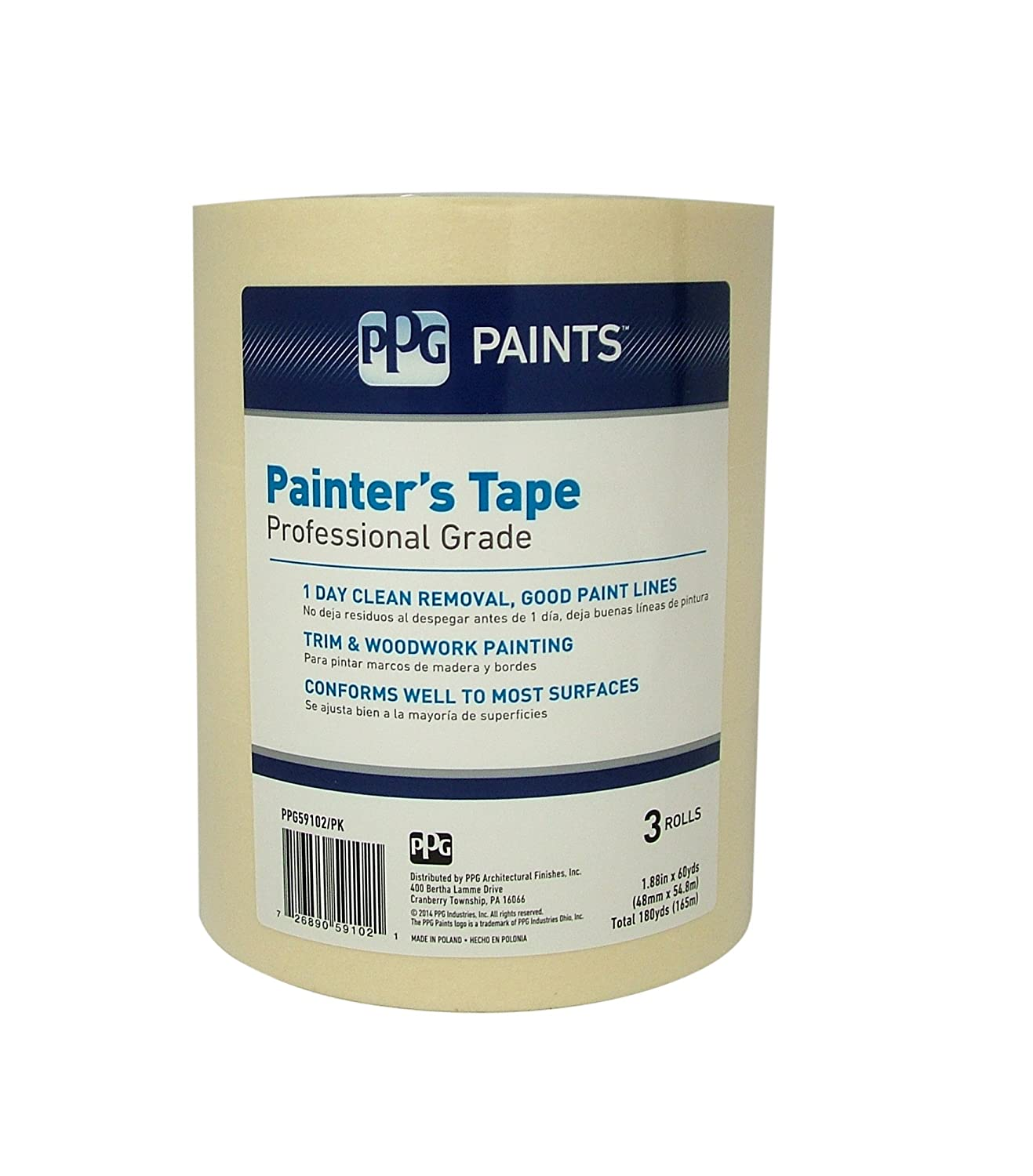 2 General Purpose Masking Tape Multi-Purpose Tape for a Variety of Uses Including Painting