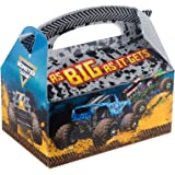 Monster Jam Birthday Party Supplies 12 Pack Favor Box