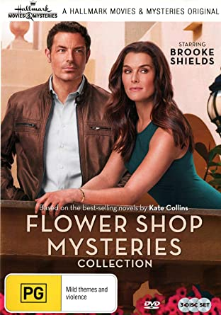 Hallmark Movies And Mysteries.Flower Shop Mysteries 3 Film Collection Mum S The Word Snipped In