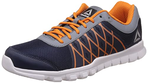 91320687d43 Image Unavailable. Image not available for. Colour  Reebok Men s Ripple  Voyager Xtreme Navy Dust Nacho Gry Running Shoes ...