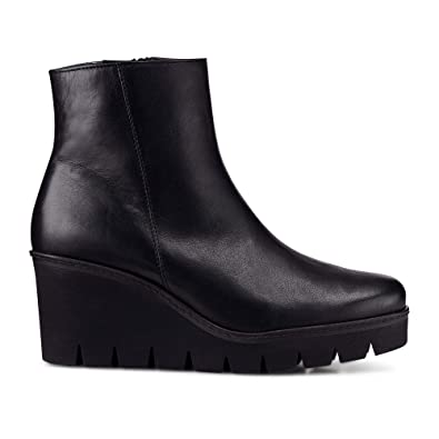 fac279359ce Gabor Utopia Womens Chunky Wedge Heel Ankle Boots 6 C (M) UK  8